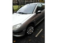 Peugeot 206 manual 1.4hdi diesel 5 door *Low mileage*£30 road tax*cheap to run*part service history*