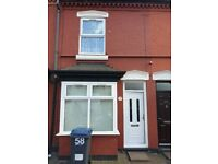 2 Bedroom House Available To Rent In Balsall Heath, Birmingham. DSS Tenants Welcome.