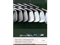 Cleveland MCT Red irons 4-PW Regular shaft