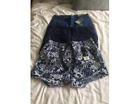 3 pairs ladies summer shorts size 12 - Brand New with tags!