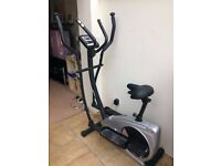 aspire 2 in 1 cycle cross trainer (york fitness)