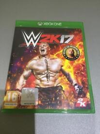 Xbox one W2K17 game
