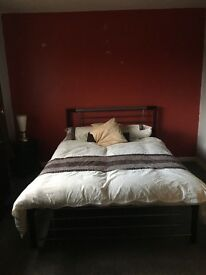 House share 2 x double bedrooms available. I large double and 1 midsize double