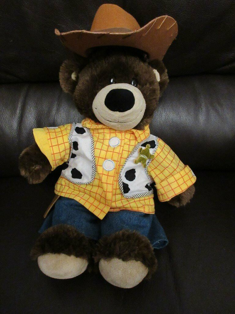 genuine build a bear sheriff 3 piece outfit extra. Black Bedroom Furniture Sets. Home Design Ideas