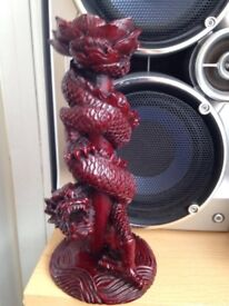 Heavy Dragon Design Candle Holder