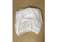 travel cot / cot mosquito net (LIKE NEW)