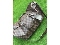 Louis Vuitton keepall hold-all leather bag