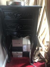 French Rocco side tables