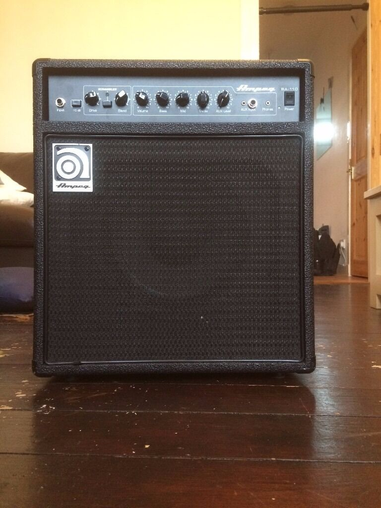 ampeg ba 110 v2 bass amp in dundee gumtree. Black Bedroom Furniture Sets. Home Design Ideas