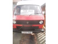 vw t25 campervan ready for the road