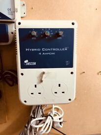 Cheshunt Hydroponics Store - used Hybrid controller 4 ampere SMSCOM