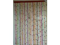Beaded Door Curtain / Room Divider / Patio screen