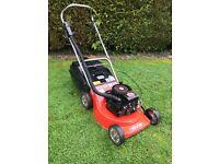 Rover rough cut lawnmower