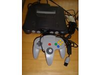 NINTENDO 64 N64 CONSOLE COMPLETE