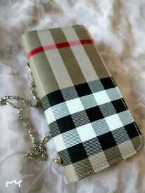 Brand New Burberry Style purse/handbag/wallet