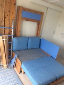 High Sleeper Bed -Bed, Sofa, Desk...Top Quality, Space Saver, Great for Sleep Overs...£95/best offer