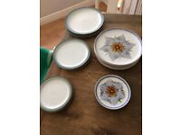 Denby pottery plates