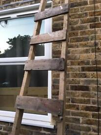 Wooden ladder3m