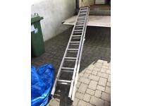 Extending ladder 2 Piece