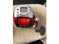 Sea fishing electric Reel + power pack