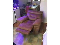 Tan armchair recliner for sale