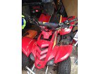 Kids raptor quad bike good condition needs a new battery £300