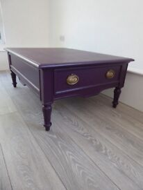 Coffee table FOR SALE painted in Farrow and Ball