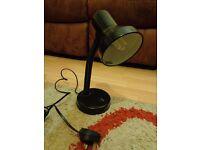 Adjustable Desk Lamp - Black