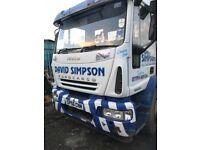 ford iveco Skip wagon 56 plate £4000