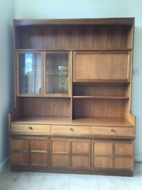 Nathan 3-Drawer 3-Cupboard Cocktail Cabinet Display Combination Unit