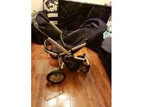 Quinny buzz 2 travel system (maxi cosi car seat) with lots of accessories