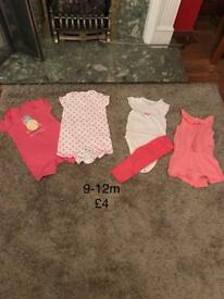 Summer baby clothes bundle