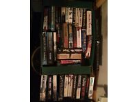 41 books - James Patterson, Patricia Cornwell, Tim Weaver