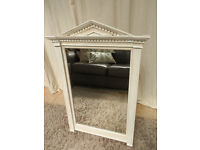 Vintage Distressed Painted Mirror