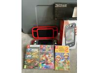 Nintendo switch lite with box and games