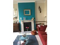 Furnished double bedroom in duplex - close to 2 train station and overground