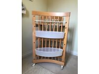 Stoke baby changing table