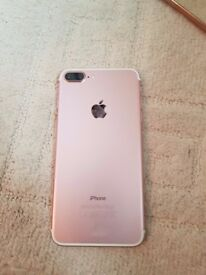 Iphone 7 plus, rose gold