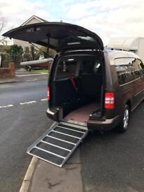 VW Caddy wheel chair access vehicle 2012 43300 miles