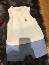 Assortment of baby clothes/things