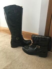 Faith Patent Leather Boots