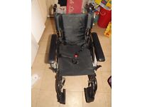 Invacare wheelchair only used a handful of times