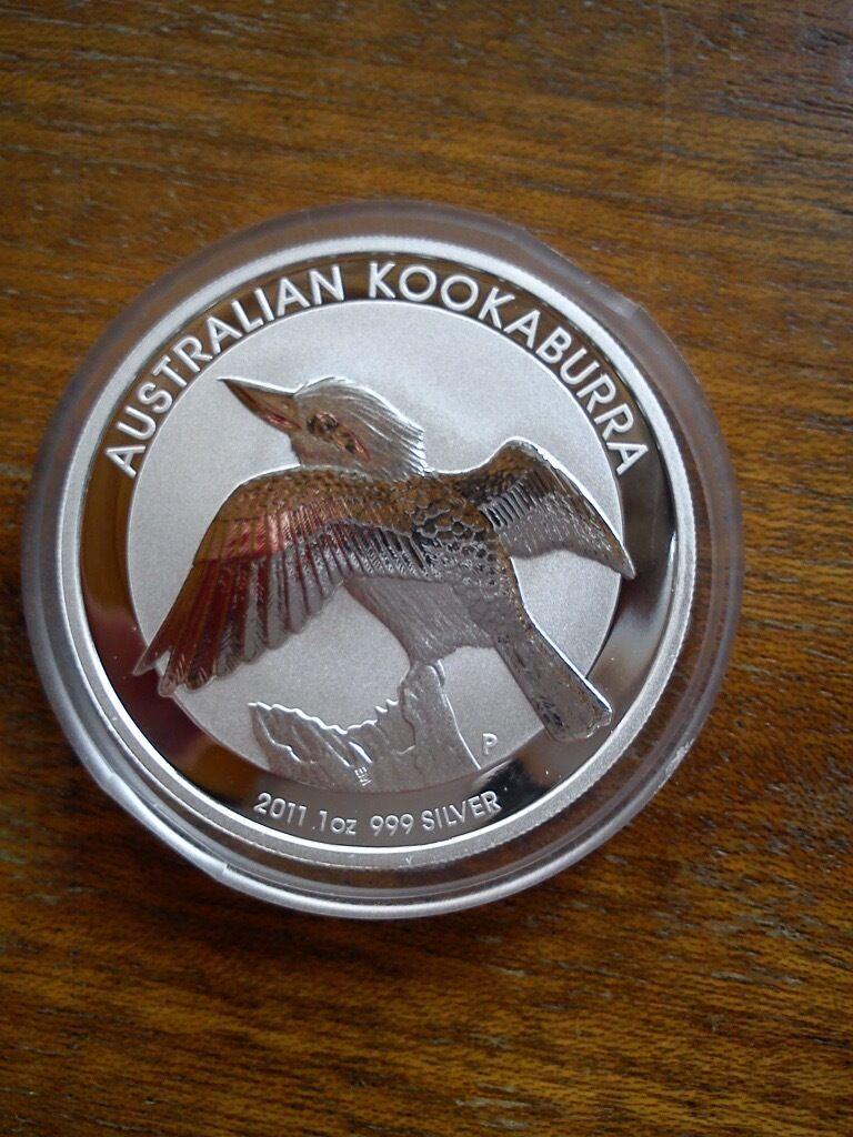 Kookaburra 2011 Silver 1oz 999