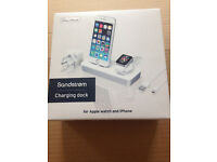 Brand New Sandstrom Apple iPhone & iwatch charging dock