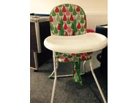 High chair in good condition Lincoln just £10 grab a bargain 🏡🏡🏡🏡🏡😍😍😍😍😍😍
