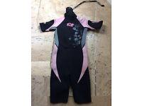 Childs Shortie wetsuit