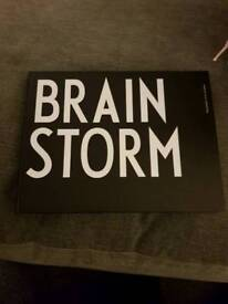 Design letter Brainstorm notebook