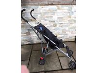 PUSH CHAIR PUSHCHAIR PRAM STROLLER. SMALL, LIGHT AND EASILY FOLDABLE. GREAT FOR THE BUS