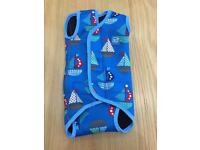 Baby swim nappy pants and wet suit body warmer