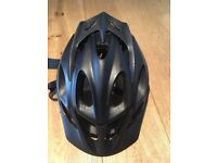 Mountain bike helmet - FOX, half face - 50-54cm. Black